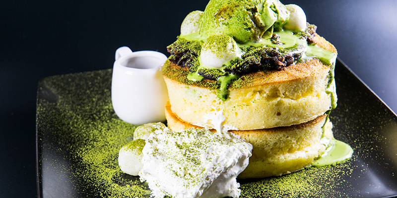 Japanese Green Tea Pancake